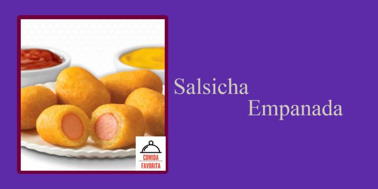 Receita de salsicha empanada