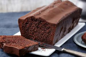 Receita de bolo de chocolate diet com cobertura
